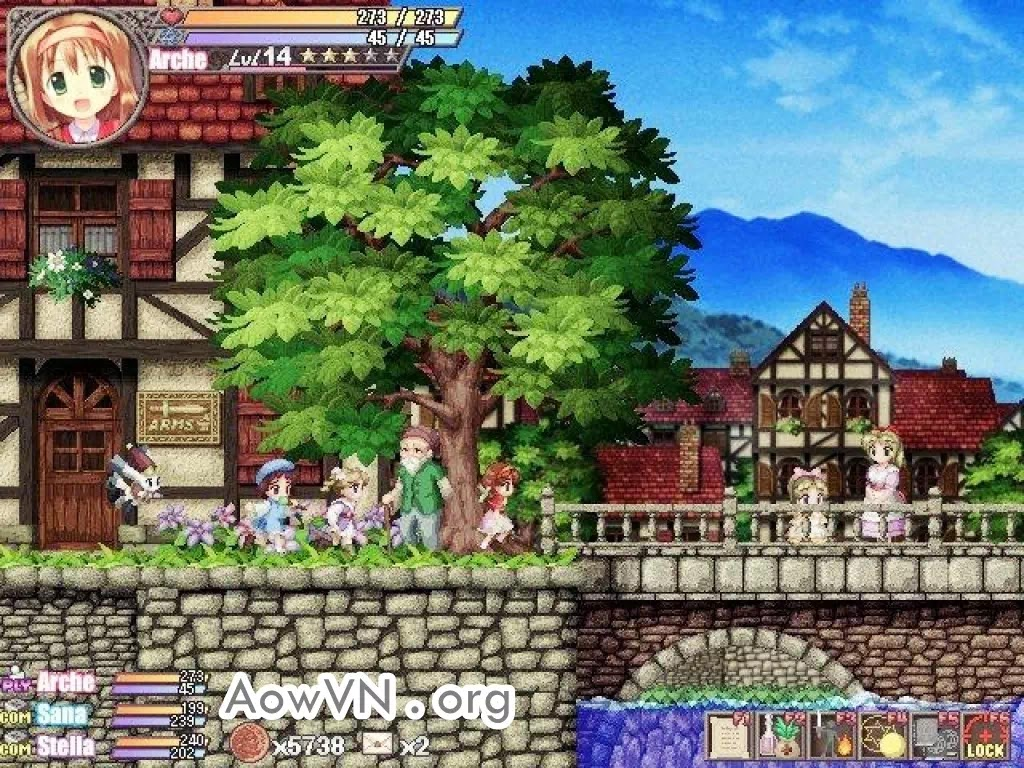 AowVN Fortune AowVN.org m%2B%25285%2529 - [ RPG ] Fortune Summoners: Secret of the Elemental Stone | Game PC phiêu lưu cực hay