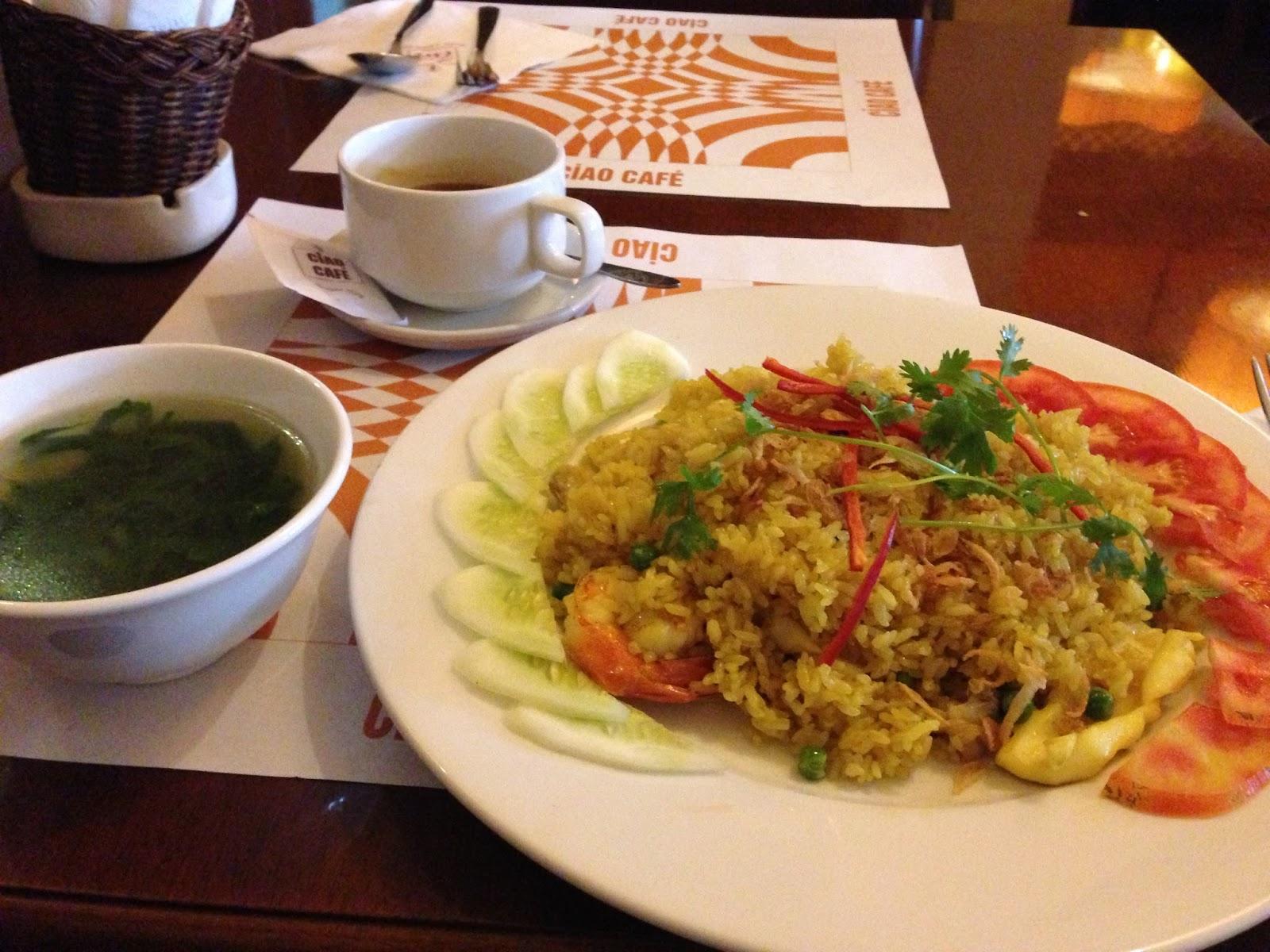 fried-rice カフェのチャーハン