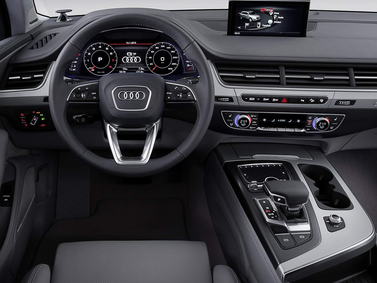 Novo Audi Q7 2015 Fotos E Detalhes Oficiais S 227 O