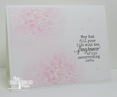 ODBD Dahlia, ODBD Fragrance, ODBD Custom Pierced Rectangles Dies, Card Designer Angie Crockett