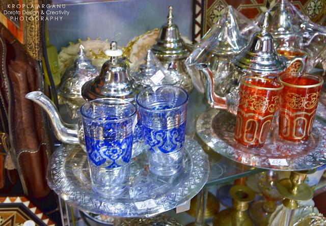 Marokańskie szklaneczki do herbaty