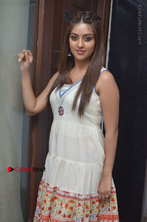 Telugu Actress Anu Emmanuel New Stills in Beautiful White Long Dress  0010.JPG