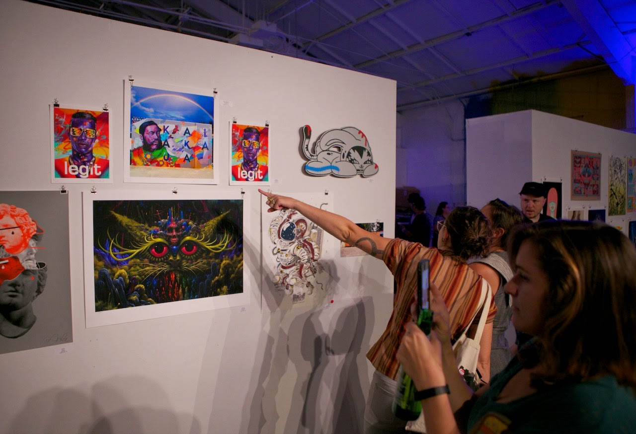 Earlier this week in Honolulu, our friends from 1XRUN opened their third annual print show for Pow! Wow! Hawaii 2015.