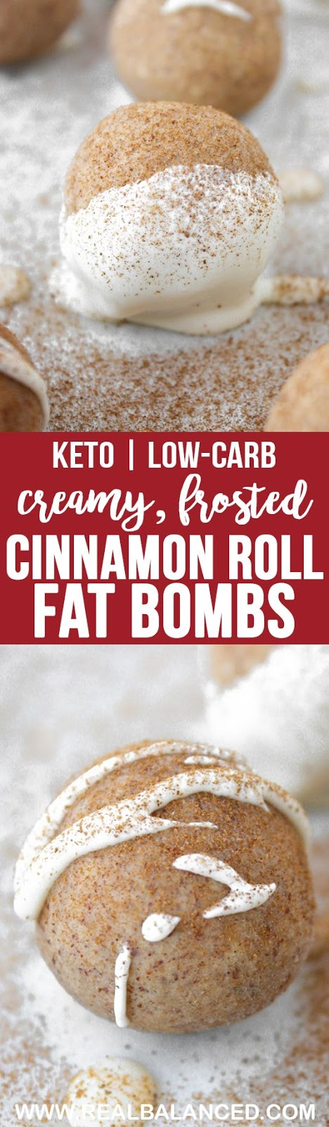 CINNAMON ROLL FAT BOMBS