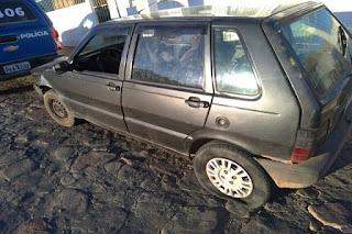 Veículo roubo em Tanhaçu