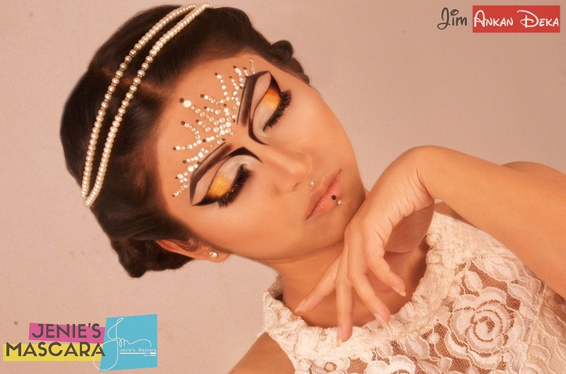 Painting her thoughts | concept makeover by Jenie's Mascara