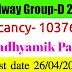 Railway Group-D Recruitment 2019: Recruitment for 103769 Posts