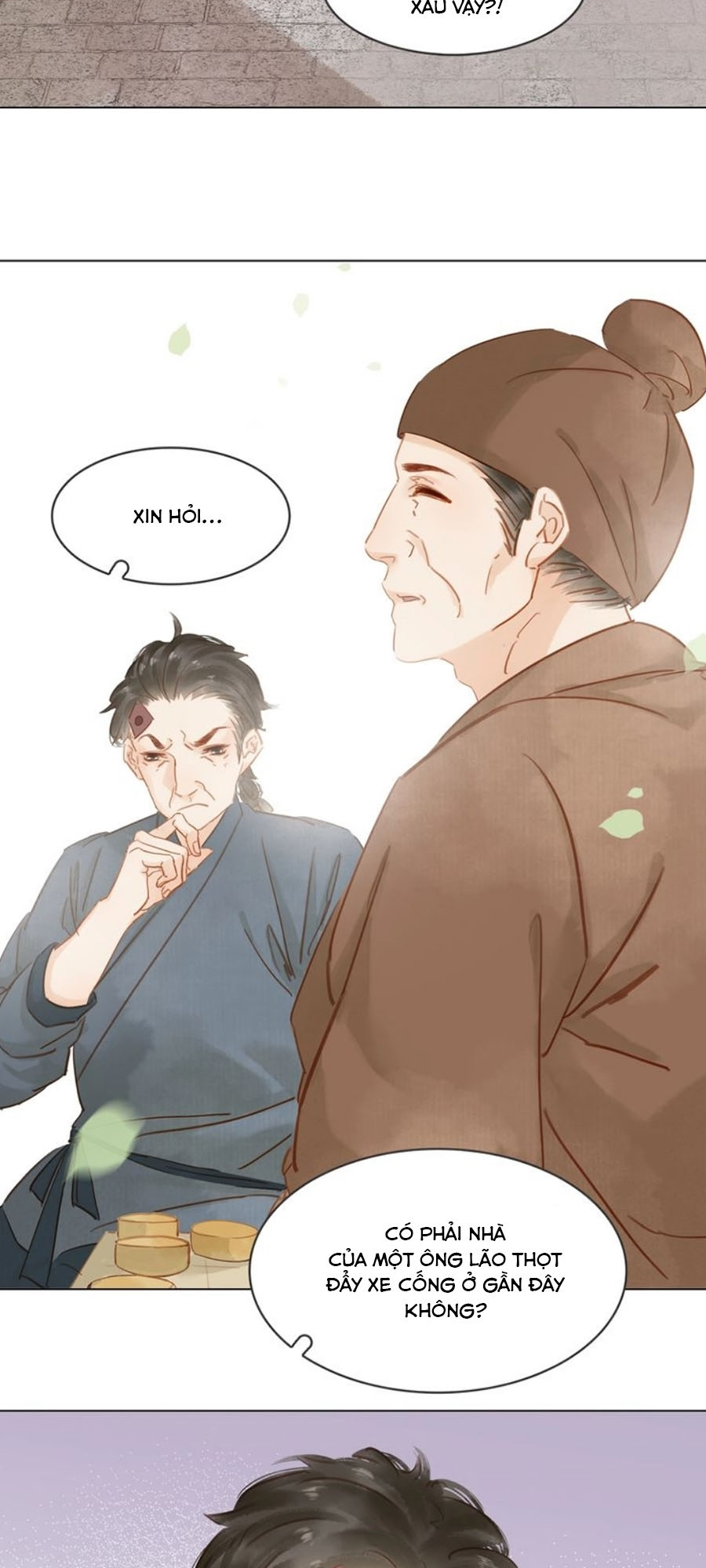 Tiểu sư phụ, tóc giả của ngài rơi rồi! chap 11 - Trang 21