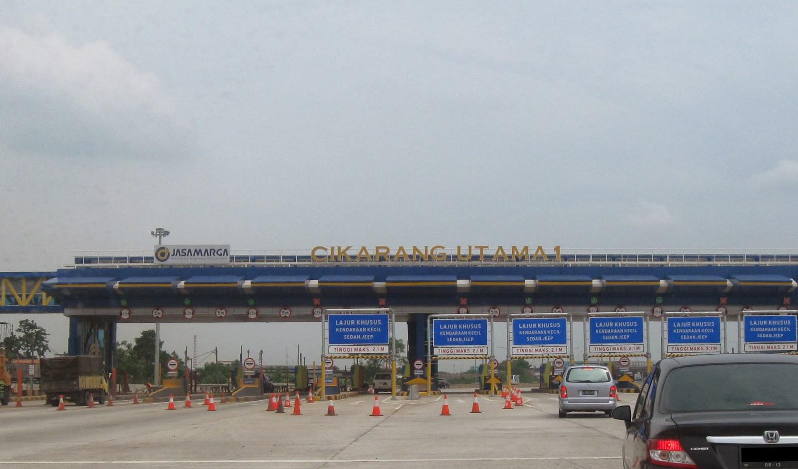Tol Pondok Gede ke Cikarang Utama Terpantau lancar