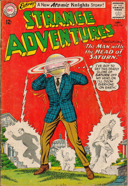 Strange Adventures (1950) issue 156 - Page 1