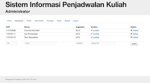 Source code Penjadwalan Algoritma Genetika dengan PHP dan MySQL