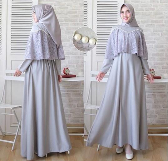 21 Model Baju Gamis Pesta Modern Elegan Terbaru 2019 Model Baju
