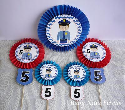 kit niño policia