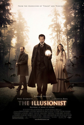 The Illusionist 2006 Dual Audio ORG Hindi BluRay 480p 300MB ESubs poster