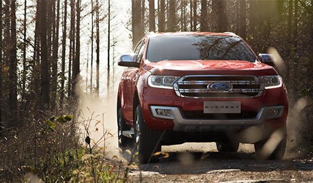 Giá xe ô tô Ford Everest 2017
