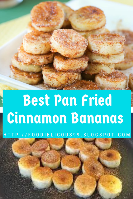 Best Pan Fried Cinnamon Bananas