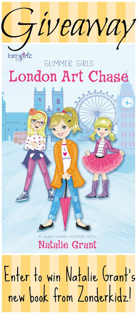Faithgirlz Glimmer Girls London Art Chase by Natalie Grant #middlegrade #zonderkidz #mustread #giveaway