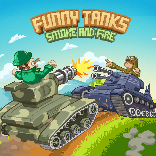 تحميل لعبة Funny Tanks v1.5 مهكرة للاندرويد وكاملة أموال لا تنتهي أخر اصدار