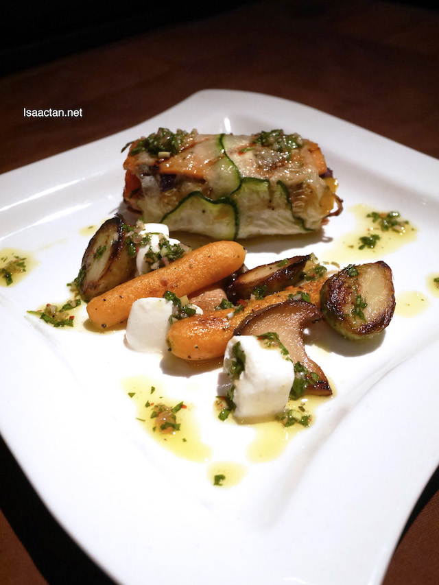 Roasted Vegetables with Chimichurri Dressing