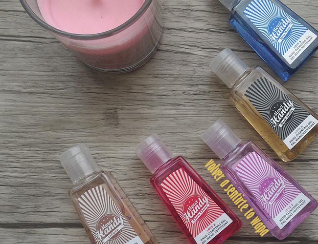 Merci Handy: geles limpiadores de manos de olores diferentes