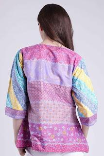 Batik Warna Pastel Model Baju Batik Wanita Terbaru 2018