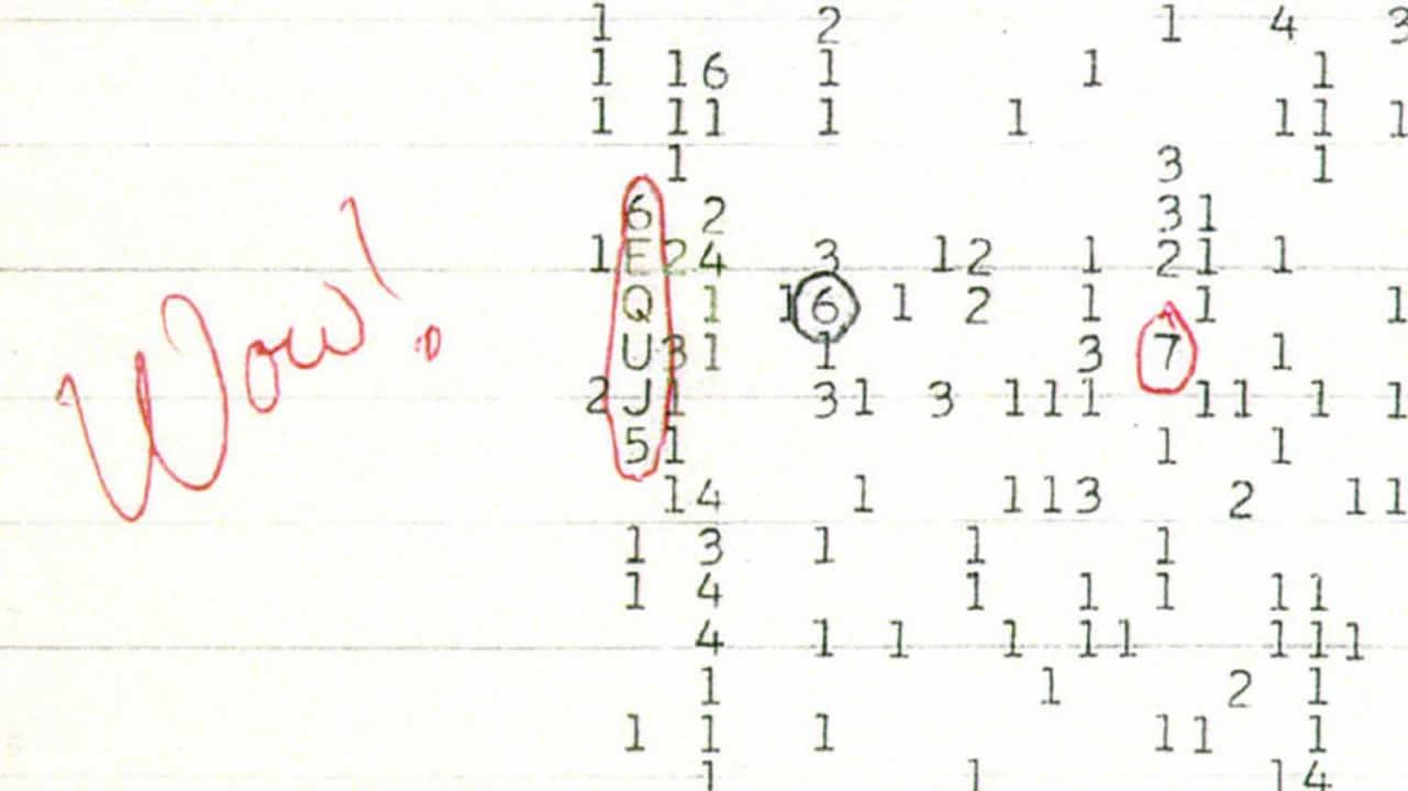Descubren el origen de la misteriosa señal «Wow!» extraterrestre