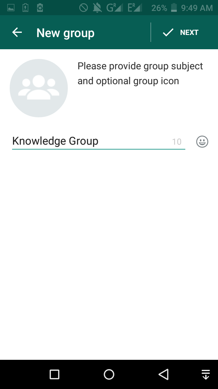 The Sign Language blog: How to use WhatsApp for getting information