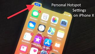 Cara Nonaktifkan / Aktifkan Hotspot Pribadi di iPhone X, iPhone 8, 8 Plus Begini Caranya