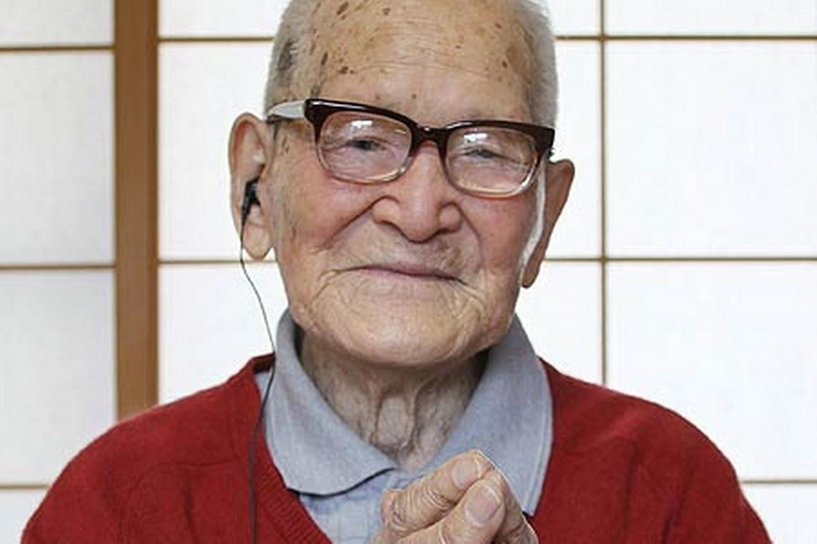 Homme le plus vieux du monde