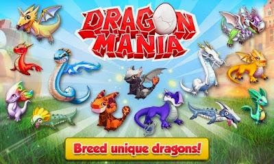 Game Dragon Mania Mod Apk Full Version (Unlimited Money, Coins & Gems)