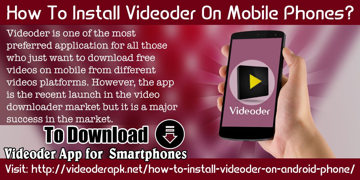 videoder app install download free
