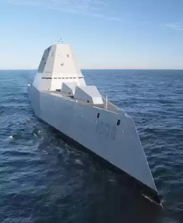 American destroyer USS Zumwalt