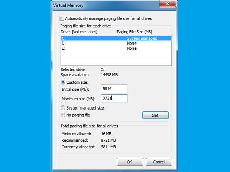Cara Menambah Ukuran RAM Dengan Virtual Memory