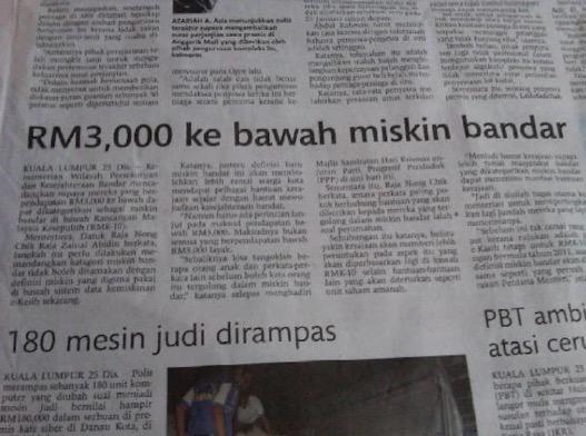 Gaji Fresh Graduate RM 3,600 Tahun 2016 Tidak Cukup