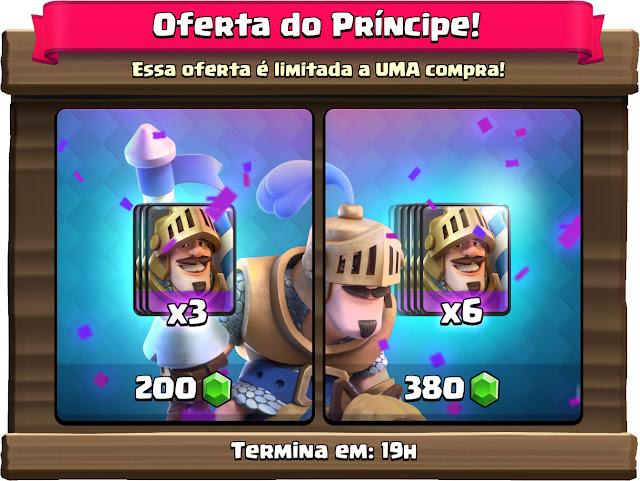 Desafio do Príncipe começou! - 2