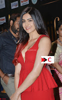Adah Sharma in Red Deep Neck Spicy Gown ~  Exclusive 15.jpg