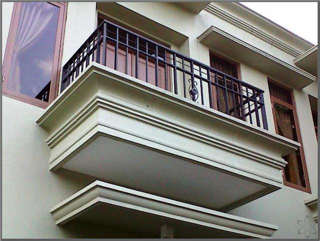Desain Balkon Minimalis untuk Loteng Rumah yang Tinggi Desain Balkon Minimalis untuk Loteng Rumah yang Tinggi