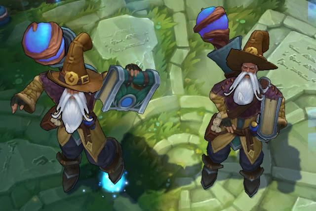 Mod Skin Ryze Whitebeard