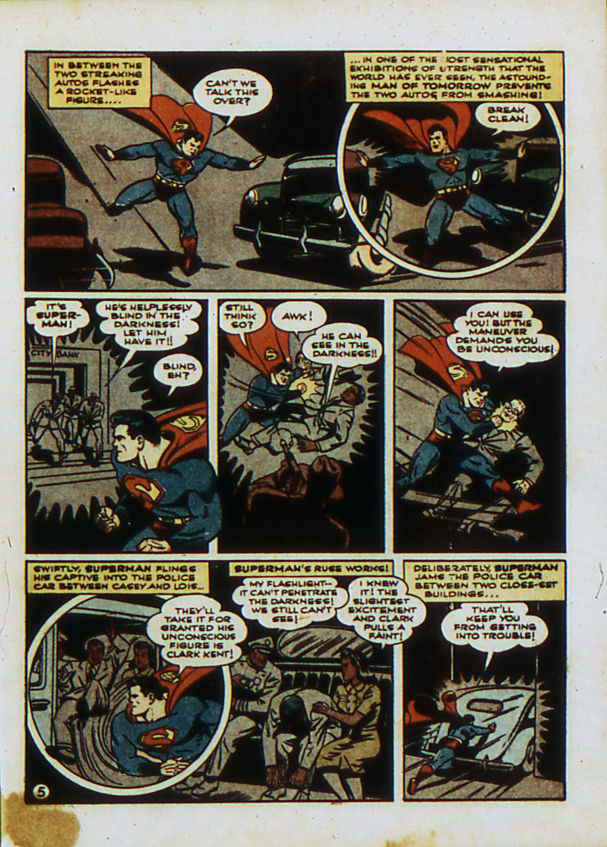 Read online Action Comics (1938) comic -  Issue #53 - 8