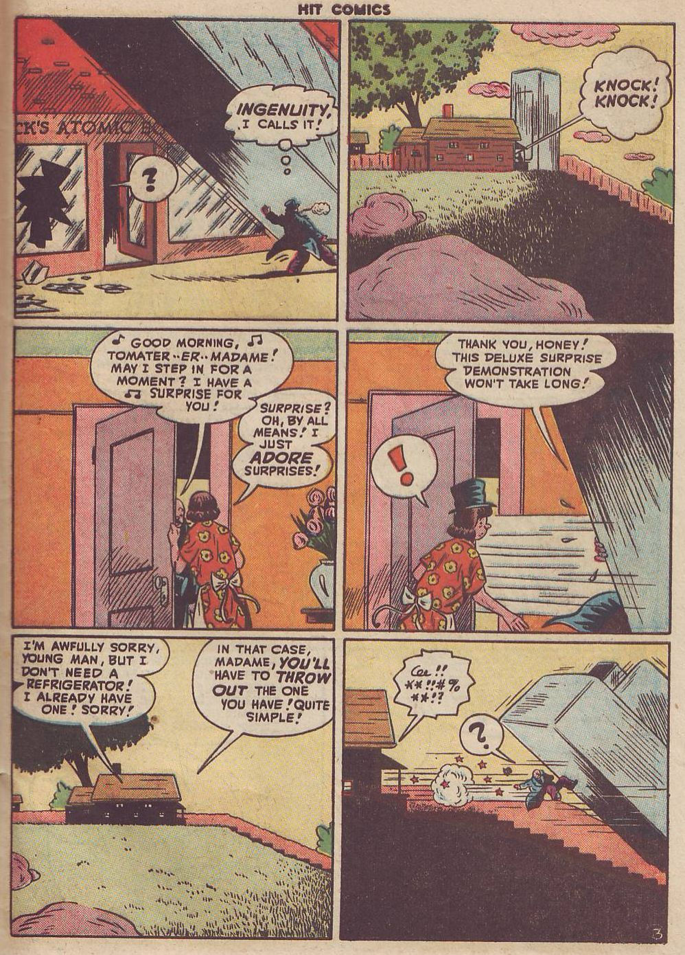 Read online Hit Comics comic -  Issue #51 - 41