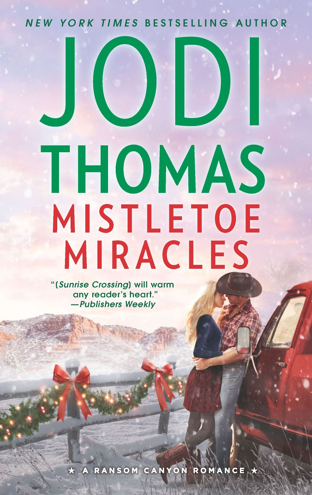 Mistletoe Miracles book cover