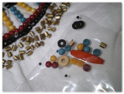 petit sachet de perles de secours