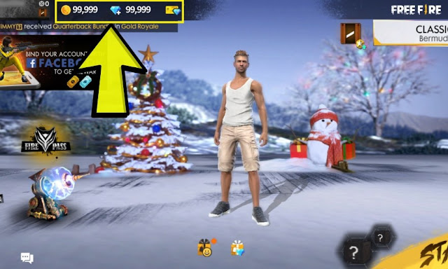 free fire diamond hack
