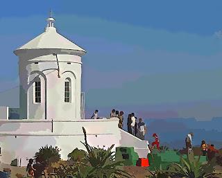 Piriápolis - Capela Santo Antônio, no Morro Santo Antônio