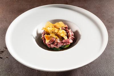 Polenta e capriolo e broccolo fiolaro- Cesare Battisti- Ratanà