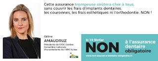 Céline Amaudruz soutient le Non