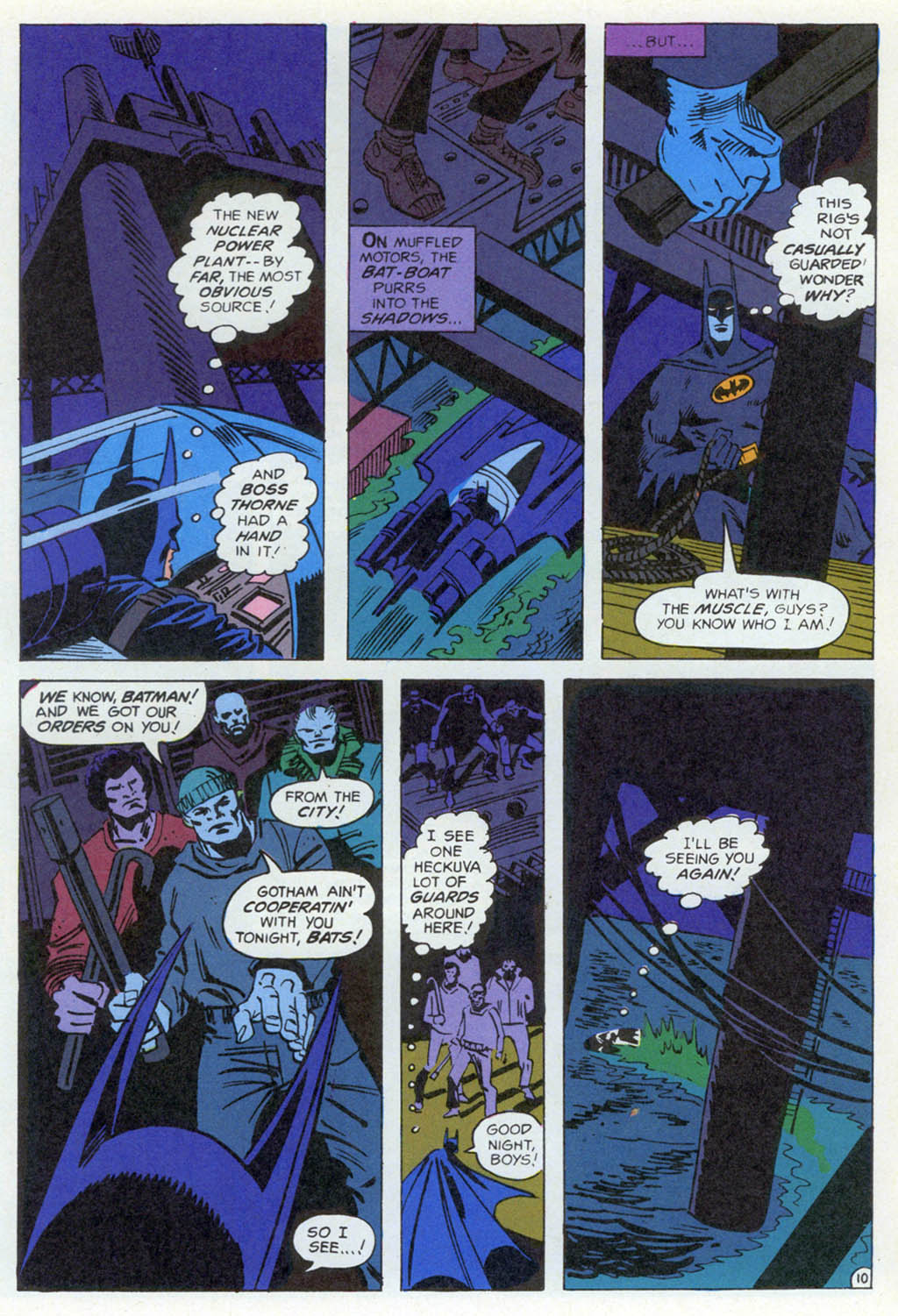Read online Shadow of the Batman comic -  Issue #1 - 29