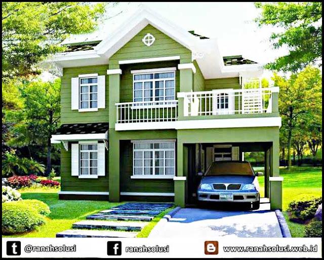 Gambar Desain Rumah Minimalis di Pedesaan
