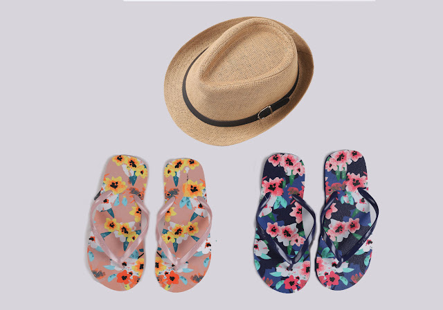 summer-hat-slippers
