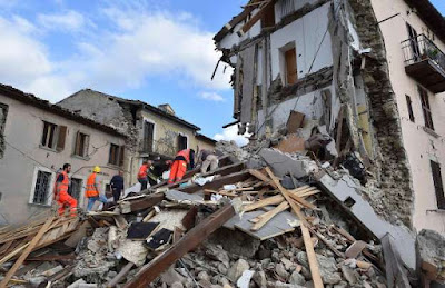 Terremoto na Itália deixa dezenas de mortos